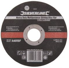 SILVERLINE 103672  Cutting Disc Stone/Metal 115Mm